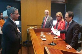 """""""No politizar por fuera del derecho"""", el pedido del procurador Jorge García al tomar juramento a un fiscal"""