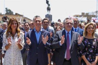 A dos días del cambio de Gobierno, Alberto Fernández y Mauricio Macri participaron de una misa en Luján