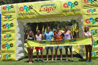"""Pasó el """"Desafío del Lago"""" y fue con mucho público y 5 ganadores"""