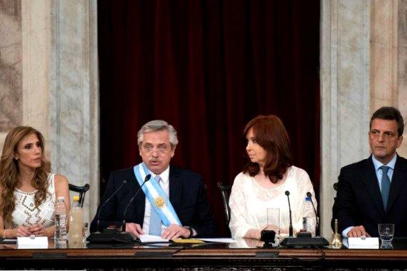 Cuáles son los principales ejes que abordó Alberto Fernández en su primer discurso presidencial