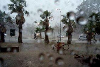 Una zona de Entre Ríos, en alerta por lluvias y tormentas intensas