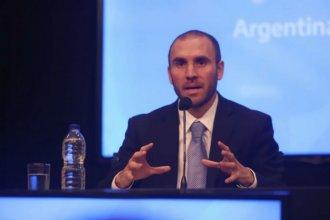 El nuevo ministro de Economía habló de la situación actual y de los acuerdos con el FMI