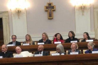 En el Vaticano y ante el Papa Francisco, disertó la vicepresidenta del STJ de Entre Ríos