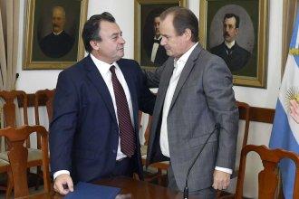 En la jura del nuevo presidente del IAPV, Bordet anunció que relanzará con la Nación una nueva política de viviendas
