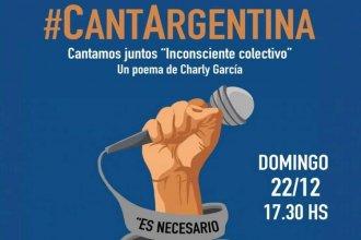 """Colón participa de """"Canta Argentina"""" con un tema de Charly García"""