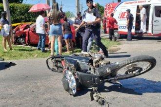 En vísperas de Navidad, encontró la muerte cuando conducía su moto