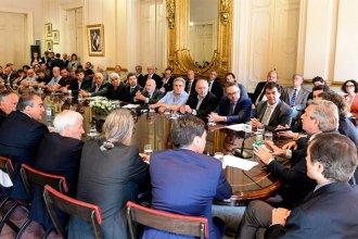 """Gobierno, empresarios y sindicalistas firmaron el """"Compromiso Argentino de Solidaridad"""""""