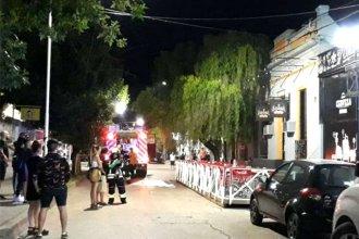 Principio de incendió obligó a evacuar una cervecería y el cine en pleno centro uruguayense
