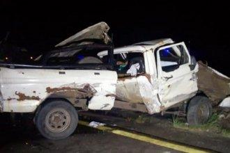 Impactante accidente sobre autovía Artigas: un camión dividió en dos a una camioneta