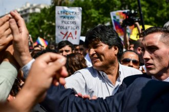 La presencia de Evo Morales entre nosotros