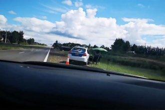 La vuelta de los fotorradares a la ruta 14 provocó el enojo de un conductor