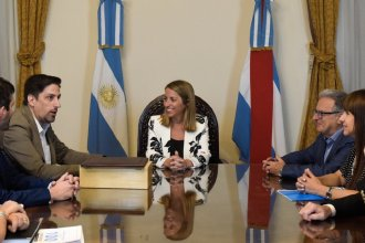 Trotta visitó Entre Ríos y valoró la reapertura de la paritaria nacional docente