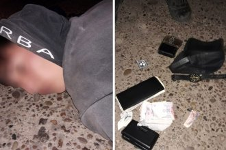 Preparó una valija para llevarse lo robado, pero un carpintero le cortó la retirada