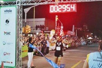 El concordiense Federico Bruno ganó la Corrida de San Fernando en Punta del Este