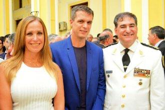 Los hermanos Cresto acompañaron la asunción del nuevo jefe de la Policía Federal que reemplaza al entrerriano Roncaglia