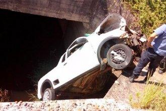 Un concordiense se accidentó y pasó 18 horas atrapado en su camioneta hasta que lo rescataron