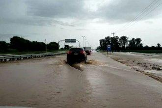 Peligro: hay agua en tramos de la Autovía 14