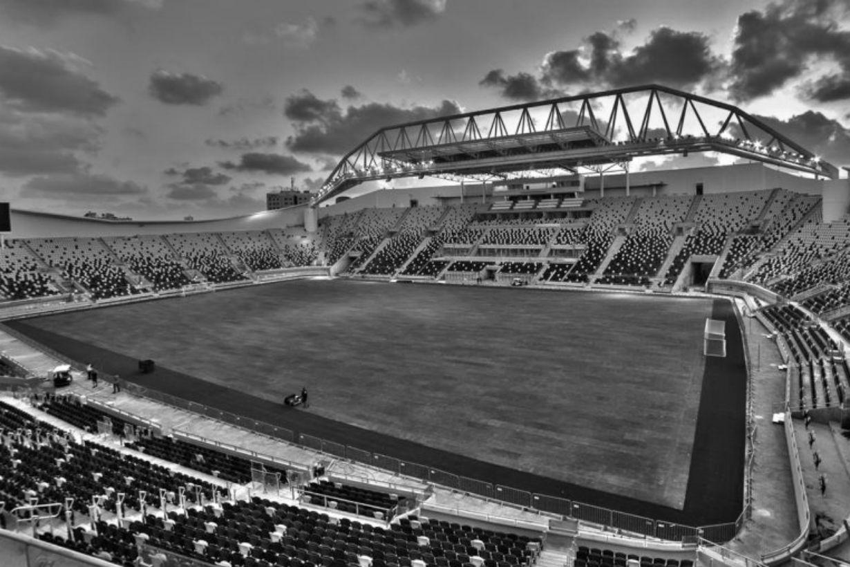 El partido fue en el estadio Bloomfield