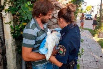 En medio de la conmoción por el choque en Gualeguaychú, una policía y un odontólogo asistieron a una mujer en un parto