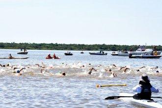 Nadadores de todo el país compitieron en las Aguas Abiertas del río Uruguay