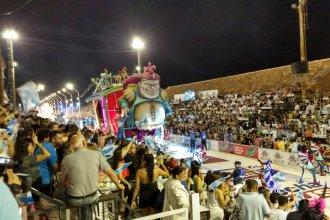 Con una asistencia récord, arrancó la edición 2020 del Carnaval del País