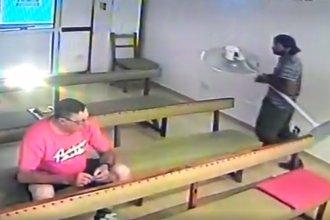 Video: Entró a la capilla del Santísimo y se robó el ventilador