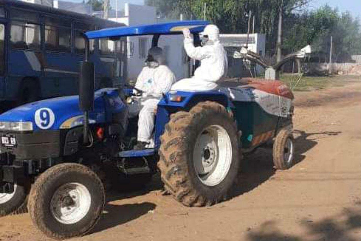 Resultado de imagen para El Municipio refuerza el programa de fumigación y desinfección de espacios públicos