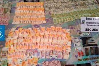 Banda criminal robó más de medio millón de pesos de una vivienda de Paraná