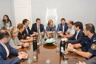 Romero visitó Concordia y anunció la ampliación de la Alcaidía, para alojar más personas detenidas