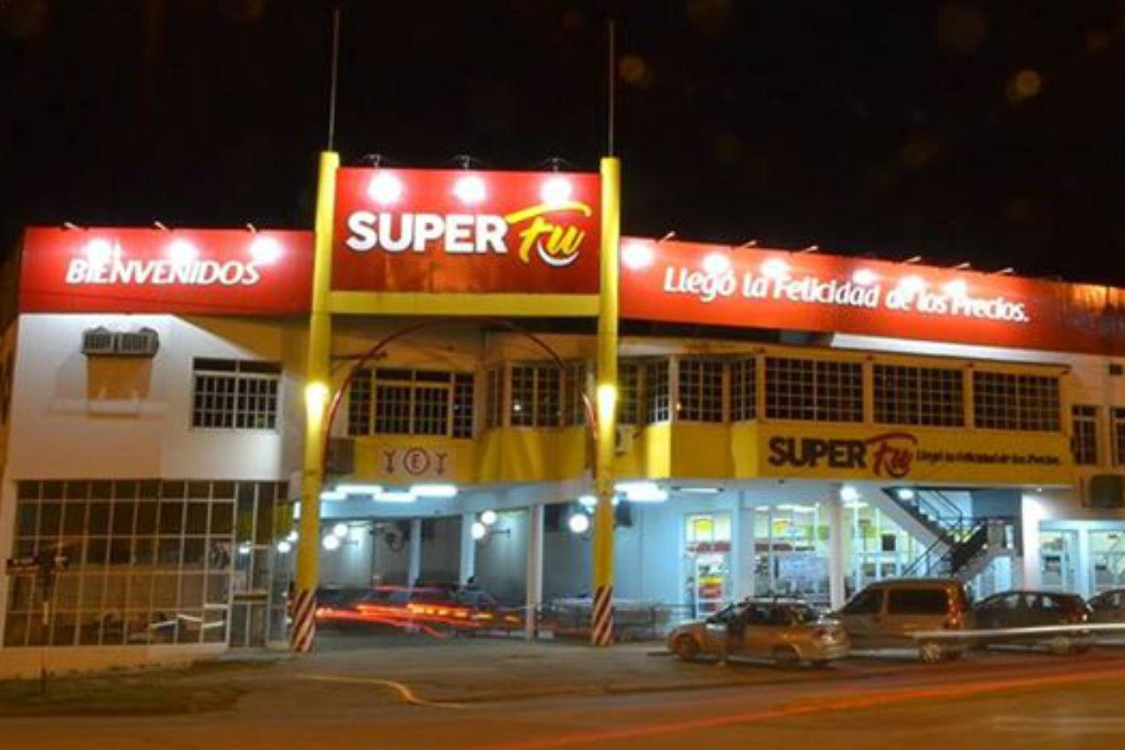 Super Fu, cuya sede central está en avenida Alem.