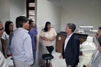 """""""Obra pequeña, cambio significativo"""": así resumieron las mejoras hechas en el hospital San Miguel"""