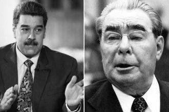 De la Venezuela actual, Nicolás Maduro y Brézhnev