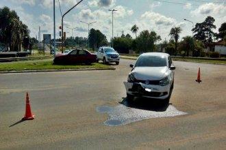 Concordia: un choque entre dos vehículos resultó con una mujer hospitalizada