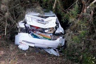 Familia oriunda de Entre Ríos protagonizó un grave accidente en Brasil: fueron embestidos por un camión