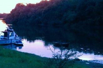 Hallaron el cuerpo del hombre que se había sumergido en el río y no había salido