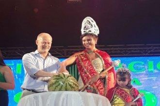 La Fiesta Nacional de la Sandía tiene nueva reina y es oriunda del departamento Concordia