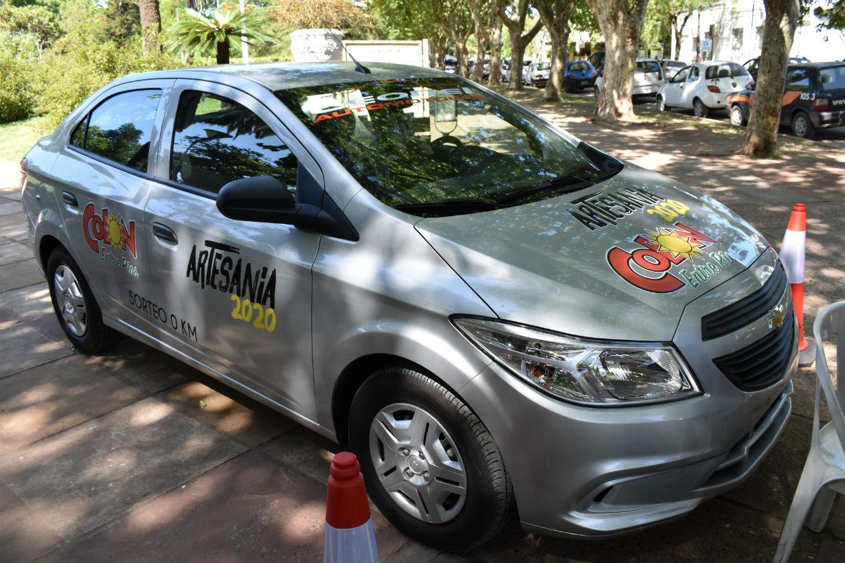 Este es el auto que se sorteará en la Fiesta.