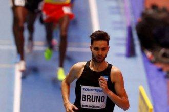 Federico Bruno competirá en los 1500 metros del Sudamericano Indoor en Bolivia