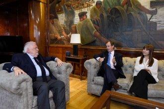 """Bordet se reunió con González García: """"La salud pública va a recuperar el rol que nunca debió haber perdido"""""""