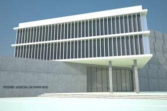 Por casi 45 millones de pesos, adjudicaron la primera etapa de la obra de los Tribunales de Federación