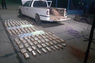 Transportaba 112 paquetes de marihuana con destino a Gualeguaychú