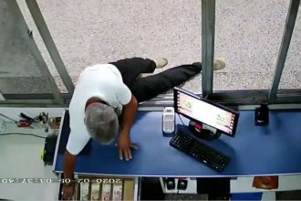 Investigan al sereno que metió la mano en la caja de la terminal de San José