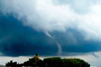 ¿Pasó un tornado por una localidad entrerriana?