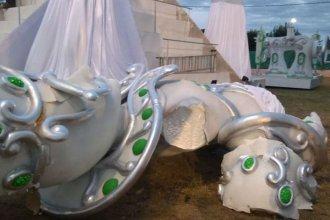 Comparsa de Concordia apuntó contra la Coordinación de Competencia por la caída de una de sus esculturas