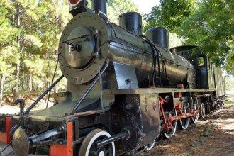 Robaron piezas claves de un histórico tren del ferrocarril Urquiza