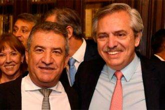 """Urribarri agradeció a Cristina y Alberto y dijo que """"es un honor inmenso"""" ser embajador"""
