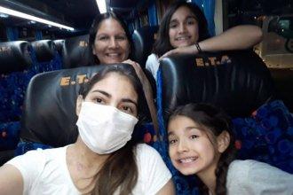 A poco más de un mes de recibir el segundo trasplante bipulmonar, joven entrerriana volvió a su casa