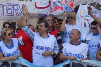 """Agmer le reclamó a Bordet una """"urgente"""" convocatoria a la mesa paritaria salarial"""