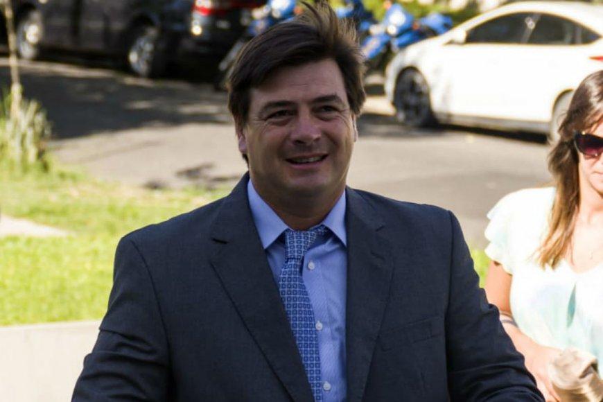Morchio preside la bancada opositora en el Senado.