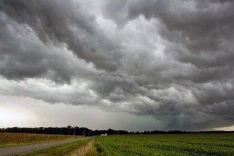 Entre Ríos y otras cuatro provincias, bajo alerta por tormentas fuertes